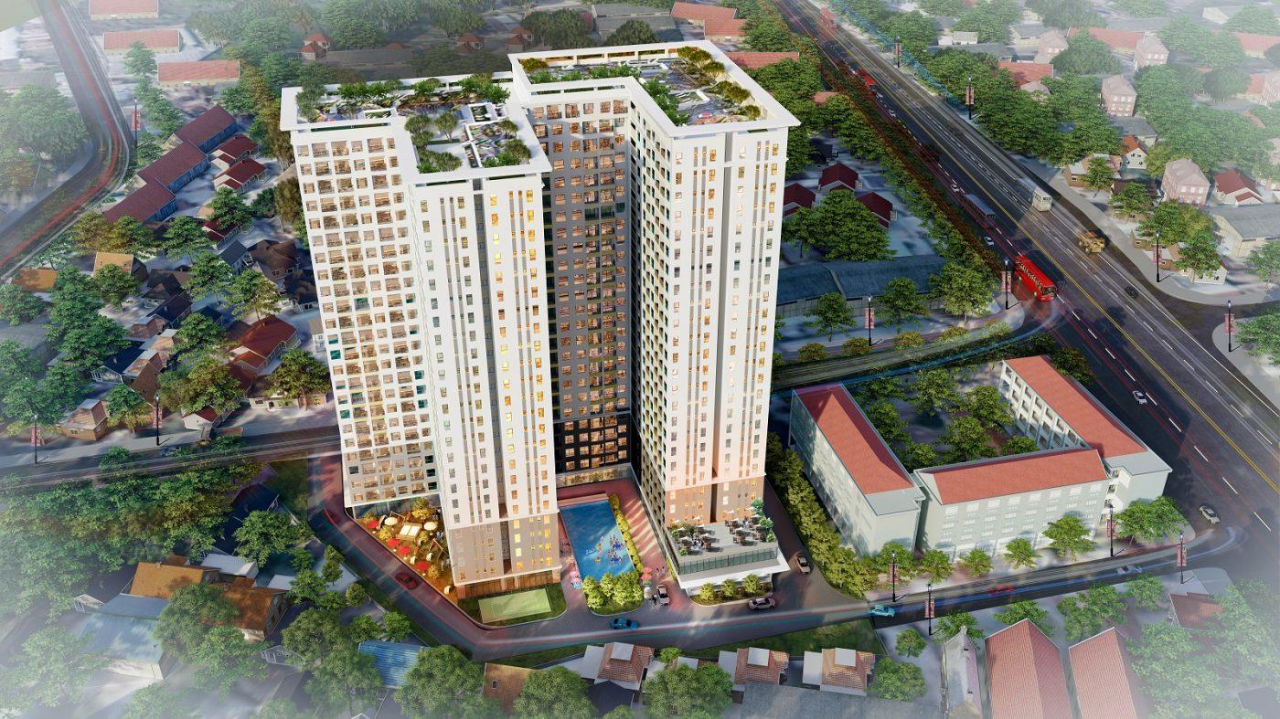 dự án căn hộ bcons green view